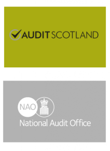 Audit Scotland and NAO Logos